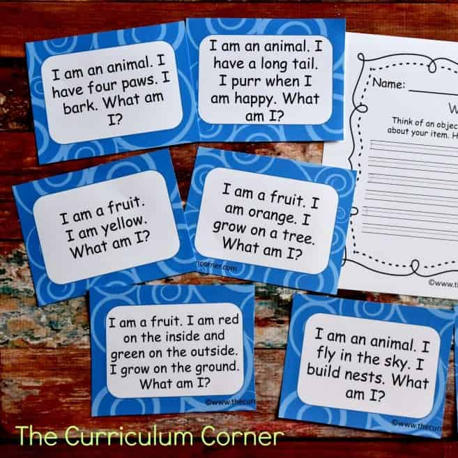 FREE Riddle Task Cards (Inferencing Activities)