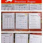 FREE Farm Print & Go Practice Pages (Farm Worksheets) from The Curriculum Corner 6