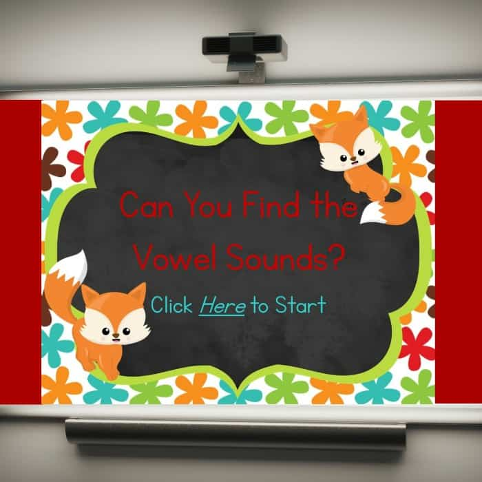 Vowel Sounds Game – PowerPoint