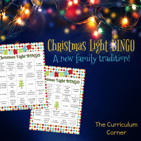 Christmas Light BINGO