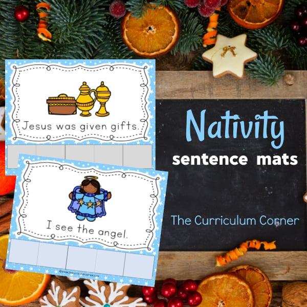 Nativity Sentence Mats