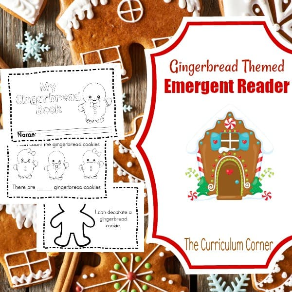 Simple Gingerbread Booklet