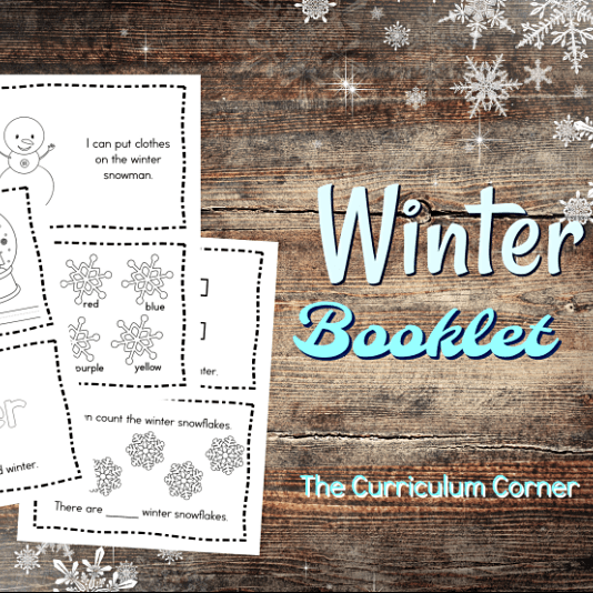 Simple Winter Booklet