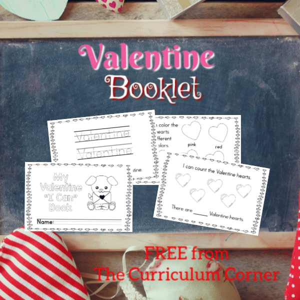 Simple Valentine Booklet