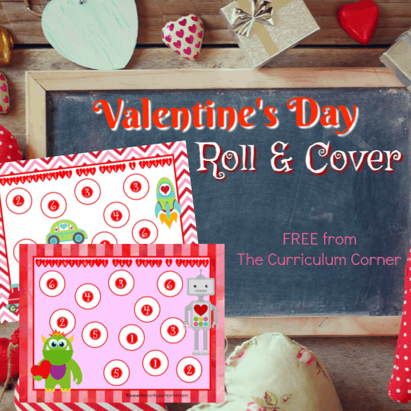 Valentine's Day Roll & Cover