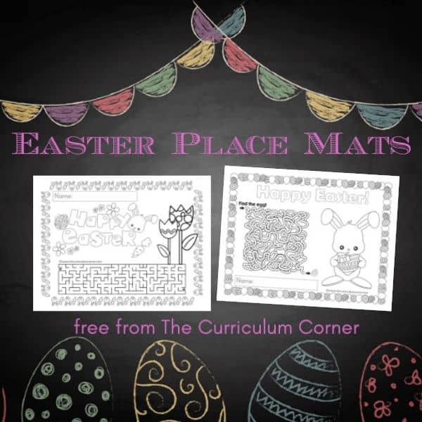 Easter Place Mats