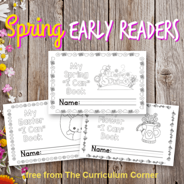 Easy Reader Booklets for Spring