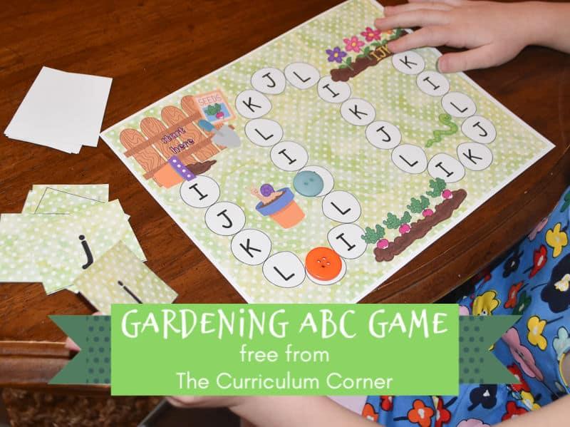 Gardening ABC Game