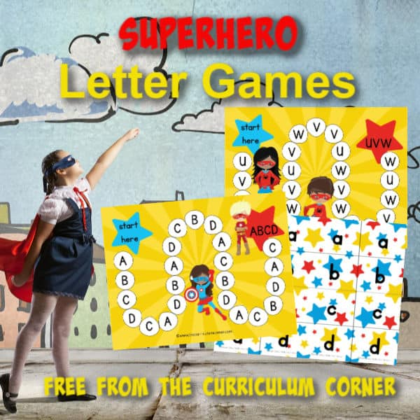 Superhero ABC Game