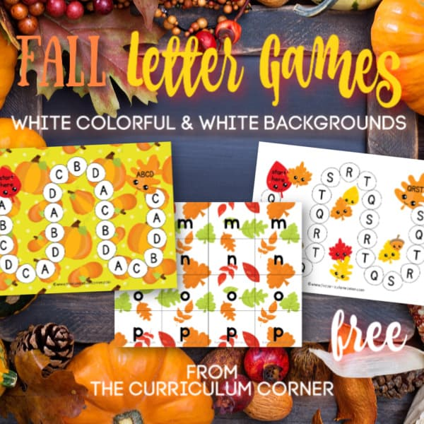 Fall ABC Game