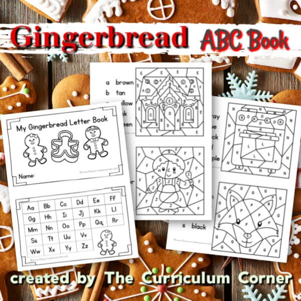 Gingerbread ABC Book