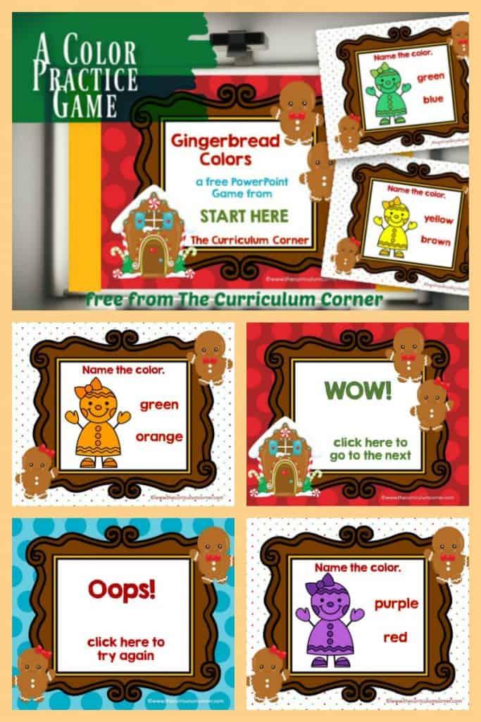 gingerbread colors