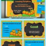 counting pumpkins powerpoint game