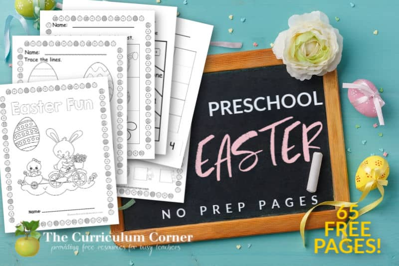 Easter Preschool Print & Go