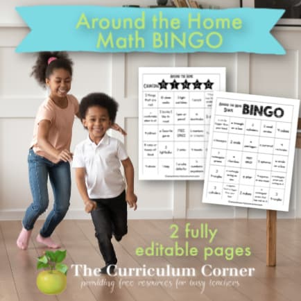 BINGO Math for the Home