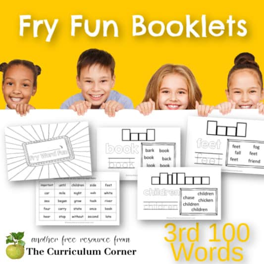 Fry Word Fun Booklets (3rd Hundred)