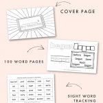 Free Fry Word Fun Booklets for the 3rd 100 Words
