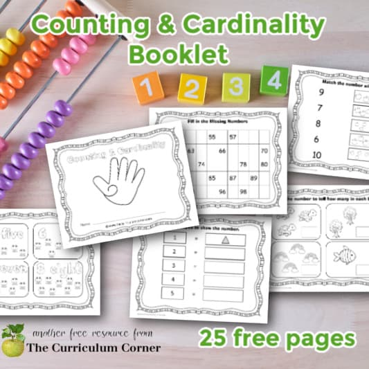 Counting & Cardinality Booklet