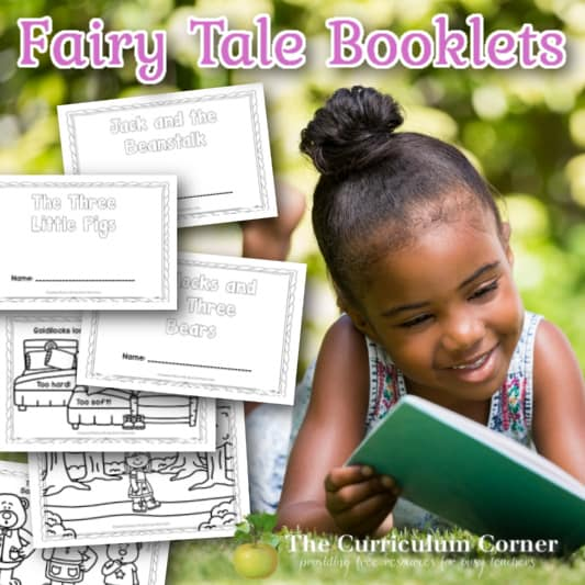 Printable Fairy Tale Booklets