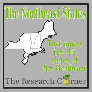 The States of the Northeast Fact Sheets by The Curriculum Corner