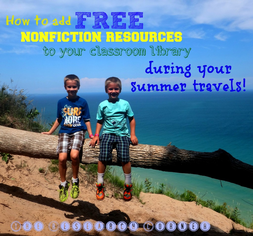 Adding free nonfiction resources to your classroom library over the summer from The Research Corner