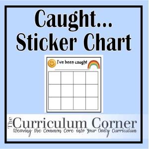 The Curriculum Corner  Blank Sticker Chart