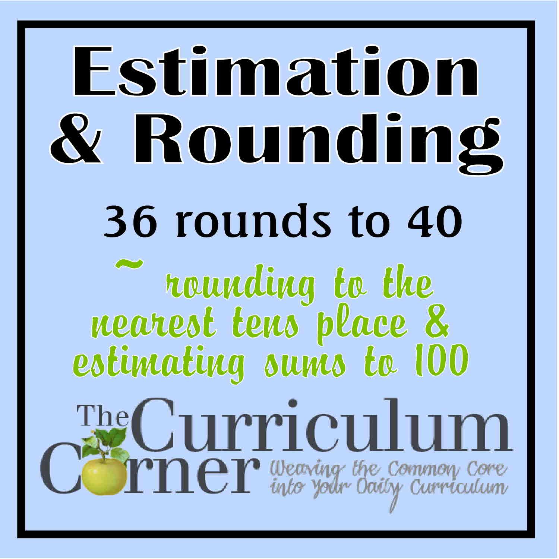 Rounding & Estimating 2-Digit Numbers