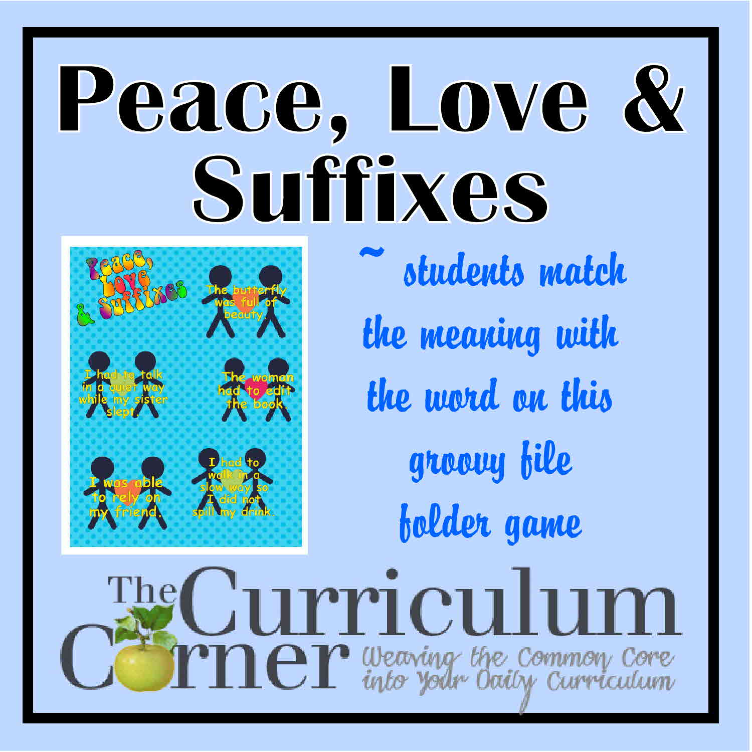 1500 x 1500 jpeg 154kB, Eace, Love and Suffixes A fun file folder game ...