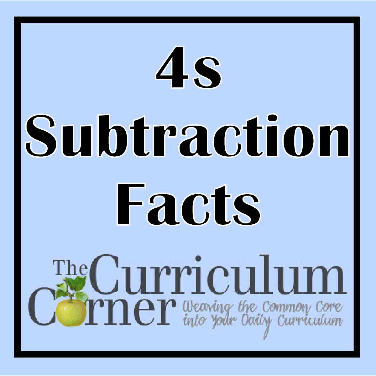 math worksheet : subtraction timed tests  the curriculum corner 123 : Subtraction Timed Test Worksheets
