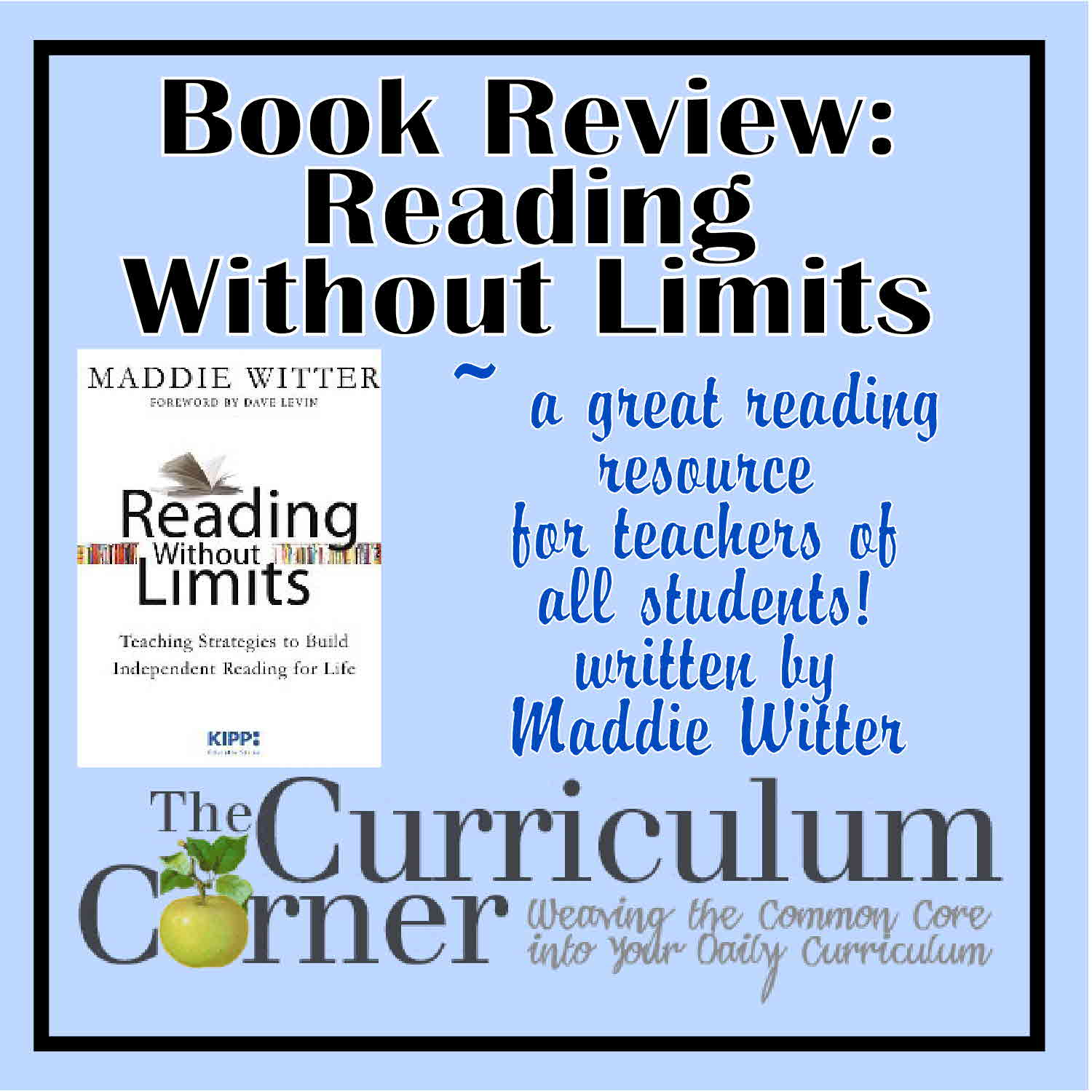 Reading without limits book review the curriculum corner 123