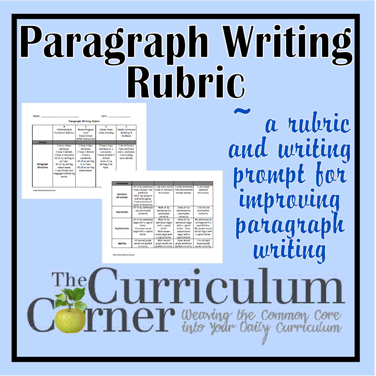 five paragraph essay rubric 7th grade Five paragraph essay outline the five-paragraph essay, one of the most frequently given assignments in higher education, is a fairly simple method of writing composition that most undergraduate students will have to produce many times throughout their academic careers.