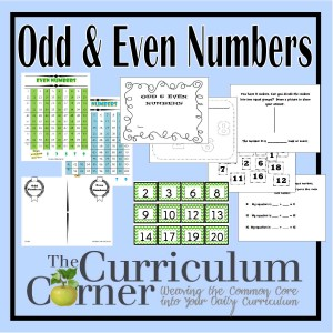 Odd and Even Number Activities