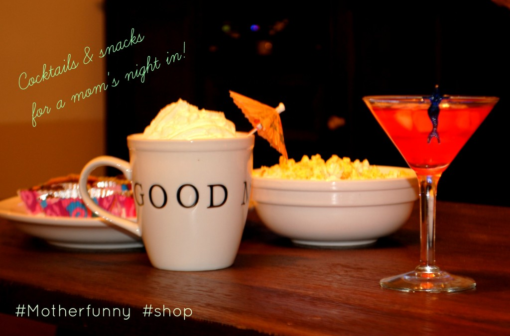 #MotherFunny #shop #cbias Instant Mom Viewing Party w/ Friends & Fun Cocktail Recipes!