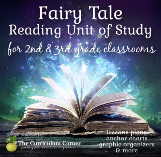 This free fairy tale reading unit of study is designed for second and third grade classrooms.